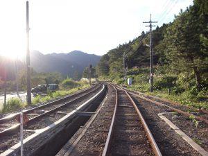 出雲坂根駅線路