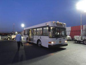 デルタのバス
