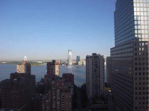ニューヨークダウンタウンマリオットホテルからの景色